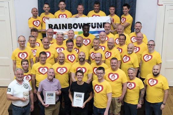 Brighton Gay Men's Chorusraise over £1,000 for Rainbow Fund