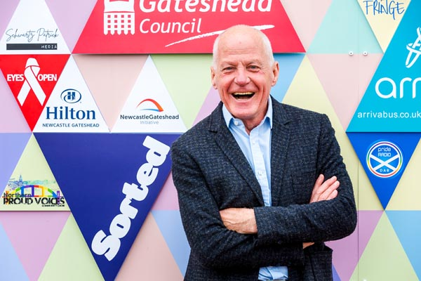 Lord Cashman joins Pride Media Centre as Patron