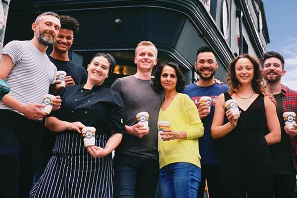 Coffee pick-me-up for Brighton & Hove Pride
