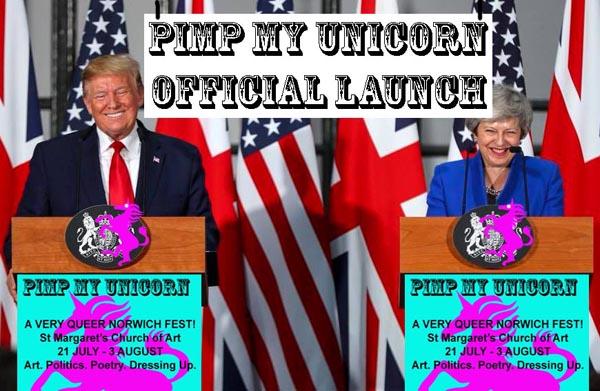 Pimp My Unicorn – A new arts show for Norwich Pride