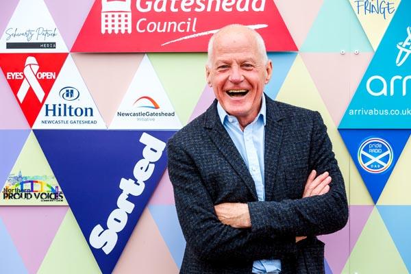 Lord Cashman opens Pride Media Centre in Gateshead