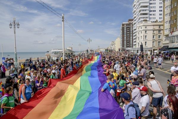 New route for Brighton & Hove Pride Community Parade in 2019