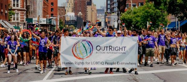 Supporting global LGBT+ human rights at World Pride