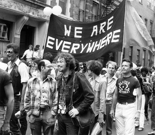 Historic photos of New York City's Pride Parades to be auctioned
