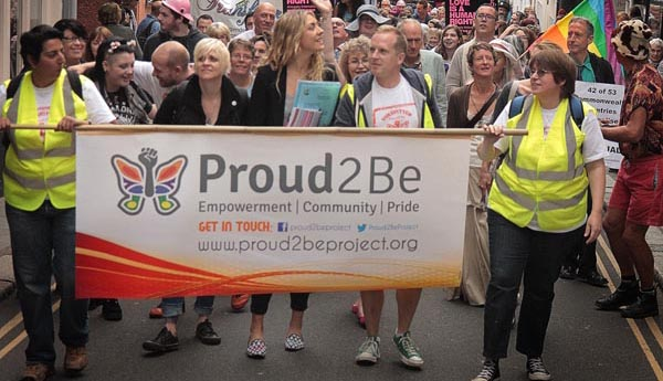 Youth group seeks financial help to attend Trans Pride Brighton