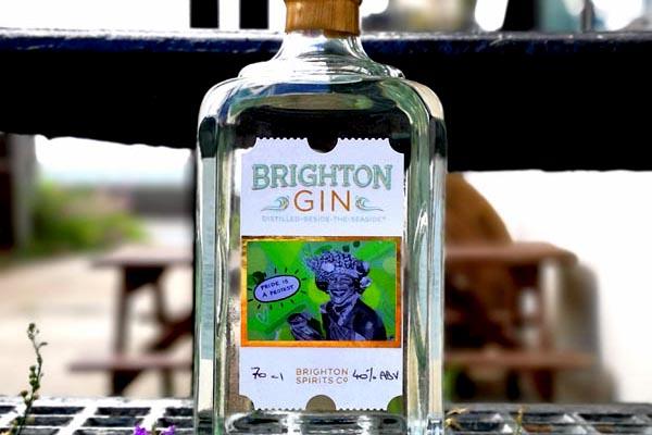 Brighton Gin announces 2019 Limited Edition Brighton Pride bottle