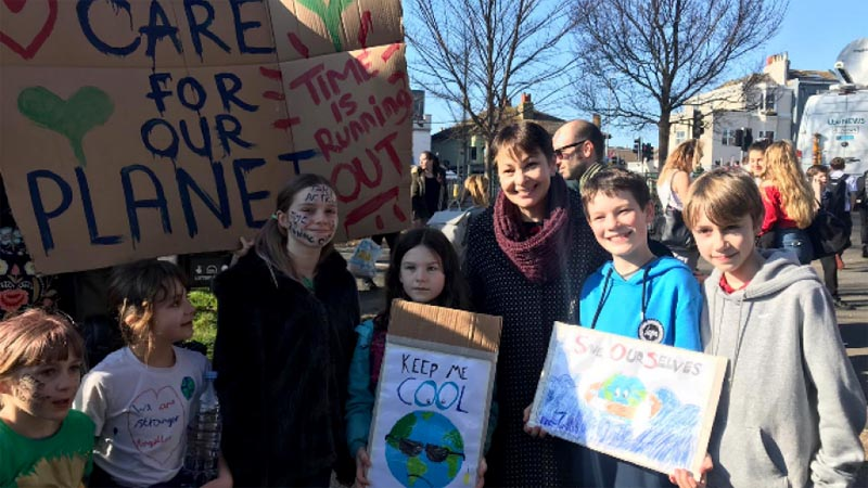 Greens back student walk-outs for global climate action