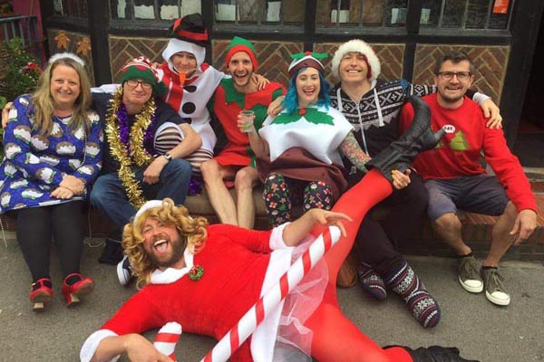 Christmas in July at Bedford Tavern