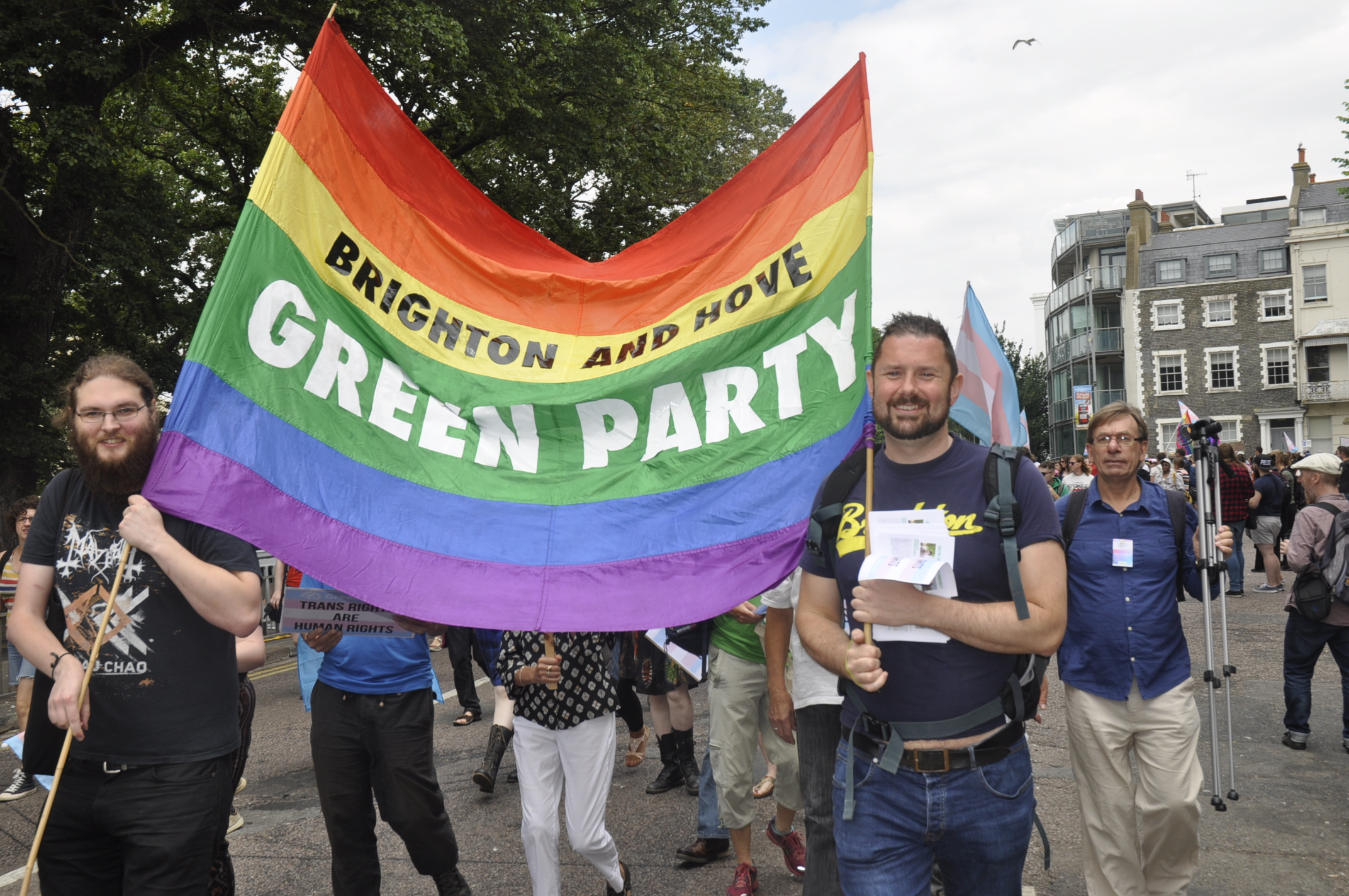 Greens to call for end to trans hate crime at Trans Pride 2019