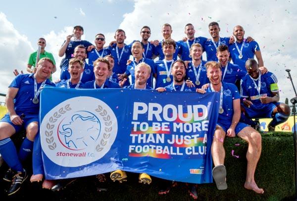 Stonewall FC triumph in Rome Eurogames