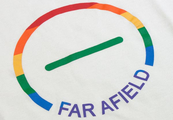 Exclusive Far Afield Pride Tee-shirt raises funds for Brighton Rainbow Fund