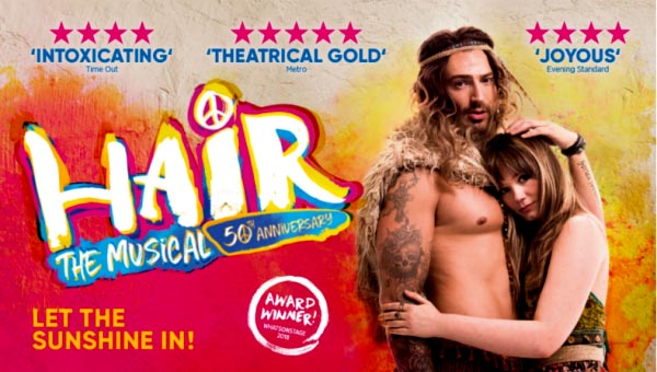 THEATRE REVIEW: Hair @Theatre Royal
