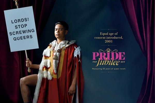 Pride London honours 50 years of queer revolt