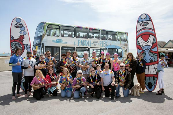 Catch the free Paddle shuttle bus, Hawaiian-style this weekend