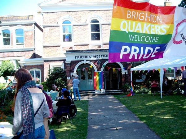 Quakers at Brighton Pride
