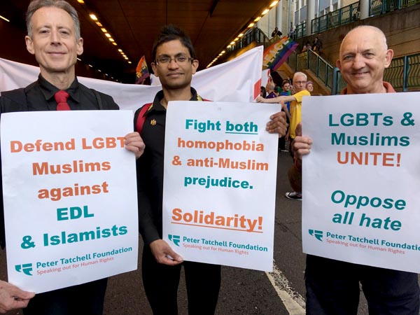 Peter Tatchell calls for back to basics at Pride marches