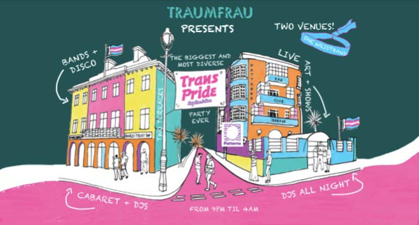 Traumfrau – The Trans Pride Afterparty Festival!