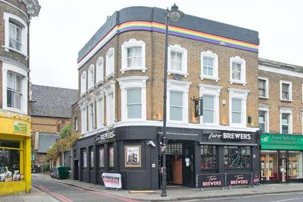 Two Brewers in running to win Best LGBT+ Pub again!