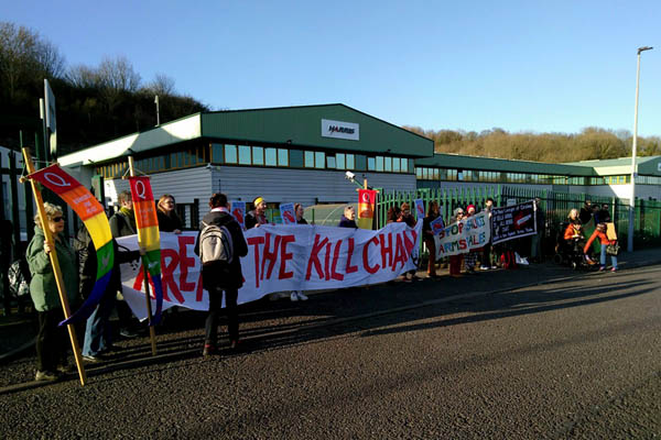 Greens call for local bomb factory to be closed