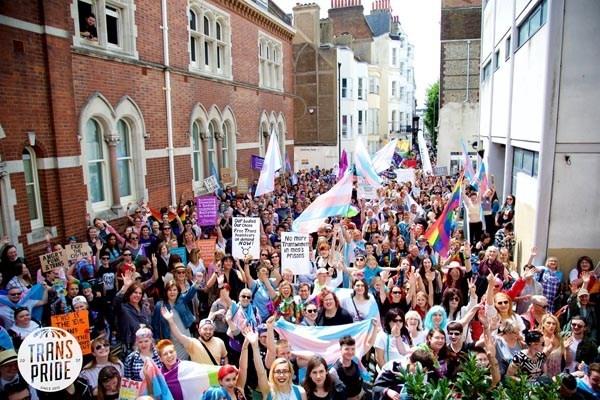 Trans Pride Brighton and Hove 2019 ready to roll