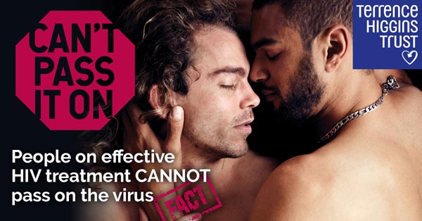 Homophobic vandals target HIV charity's new anti-stigma campaign sites