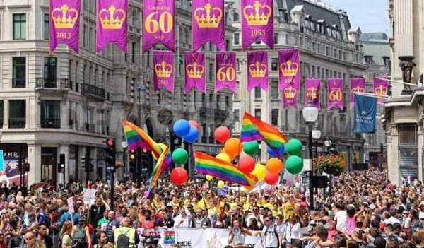 Record crowds expected at Pride in London today