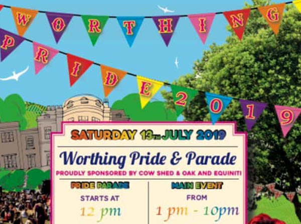Today is the second Worthing Pride