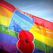Two Royal British Legion LGBT+ events during Brighton Pride