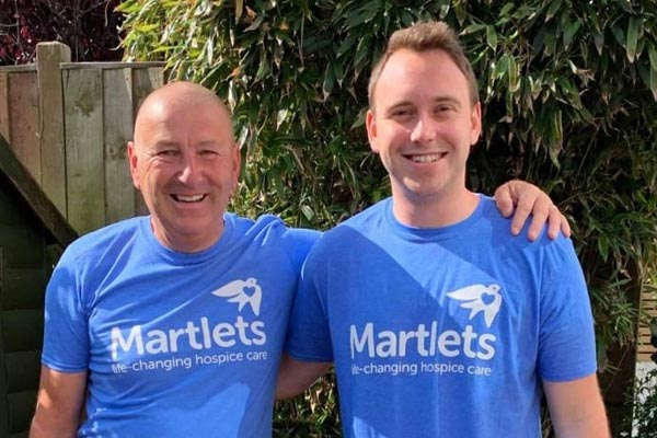 Father and Son-in-Law take on Saharan challenge for Martlets
