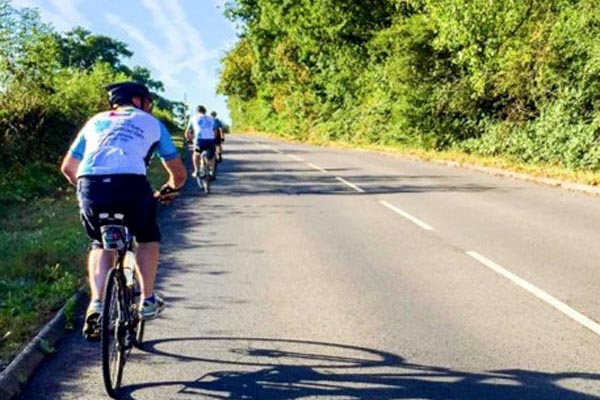 Cycle from London to Brighton with team Beacon