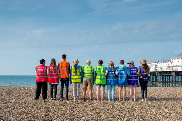 Brighton Pride's joint cleaning effort a huge success
