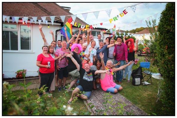 Saltdean Pride – it's a first!
