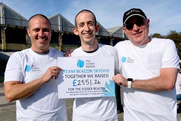 Supporters raise £2,551.26 for Sussex Beacon