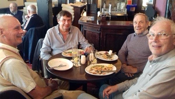 Eastbourne Rainbow lunch at Rottingdean Club