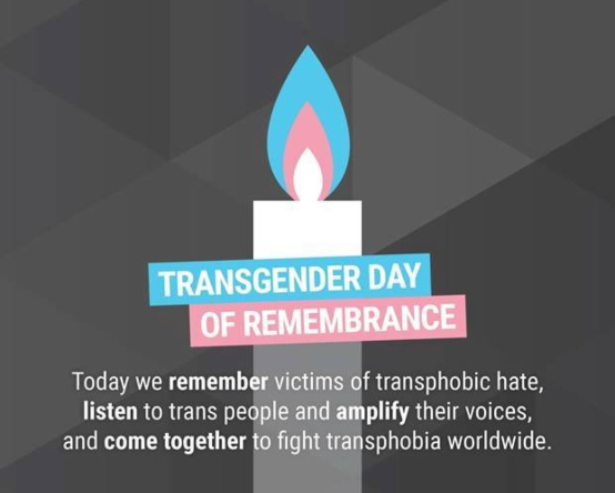Brighton & Hove marks Trans Day of Remembrance: Sunday, November 17