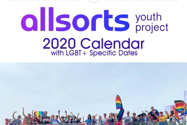 Allsorts Youth Project: 2020 Wall Calendar
