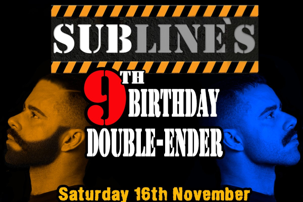Subline's 9th Birthday: Double-Ender Weekend