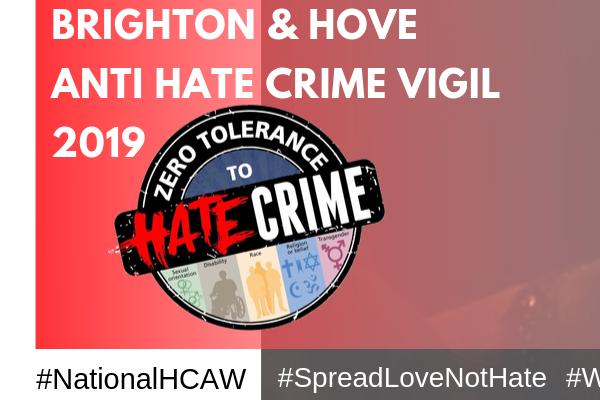Community Hate Crime Vigil at the Rainbow Hub