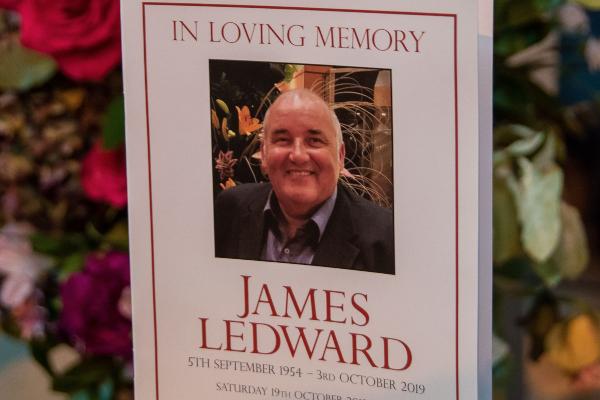 James Ledward 05/09/1954 – 03/10/2019