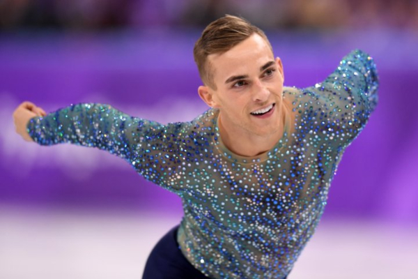 Adam Rippon Celebrates 30th Birthday with beautiful skate to 'River