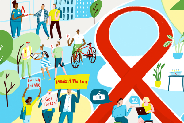 """Living With HIV in 2019  """"The end of transmission is the next beginning"""""""
