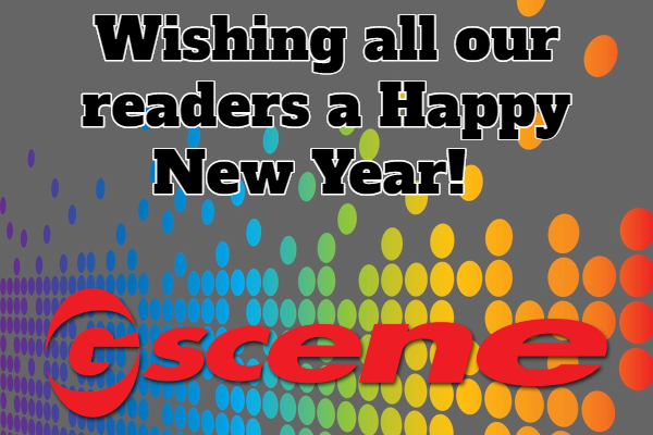 A Happy New Year from all at Gscene