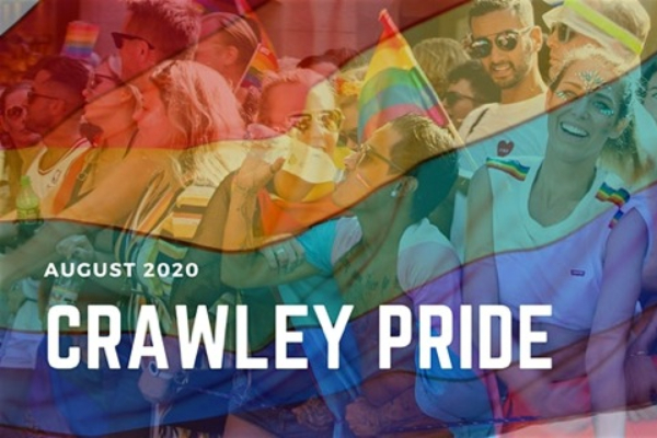 1st Crawley Pride announced for Saturday, August 29