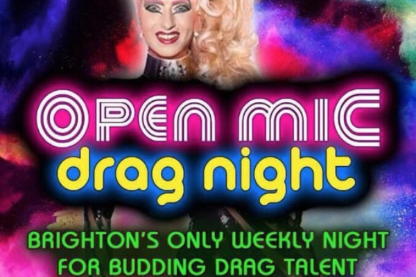 Marine Tavern's Drag Open Mic Night is on the move!