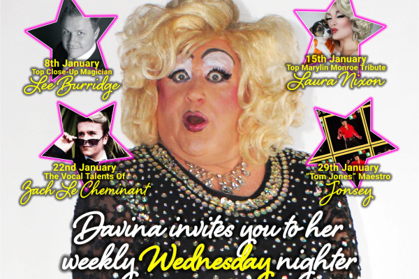 'A bit of midweek Sparkle' at Legends Brighton tonight & every Wednesday