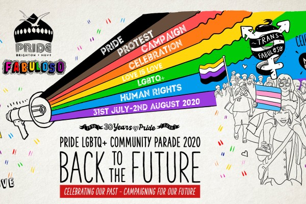 "Pride announces LGBTQ+ community parade theme for 2020, ""Back to the Future."""
