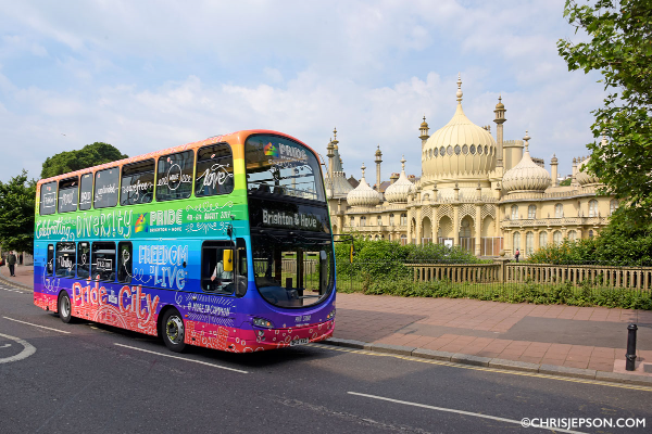 Brighton & Hove buses to deploy air-cleaning bus