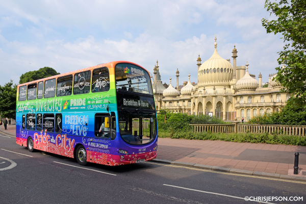 Brighton & Hove Buses increasing service levels to continue to enable physical distancing