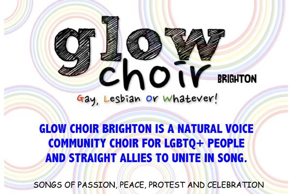 GLOW – a natural voice Community Choir for LGBTQ+ communities and allies