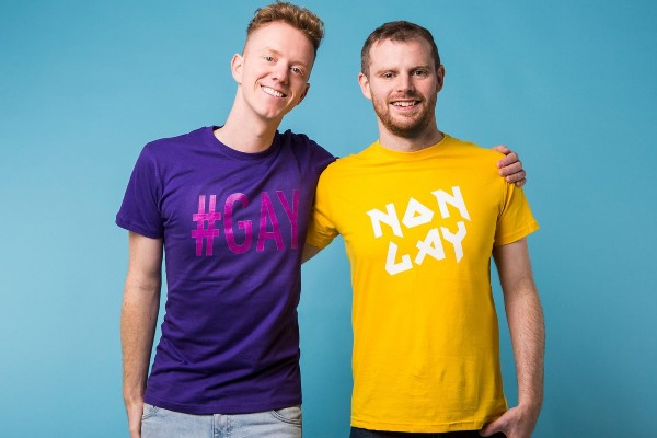 Brian Butler looks forward to the award-winning podcast A Gay and NonGay